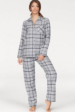 flanellen pyjama »Susannah« in klassiek model