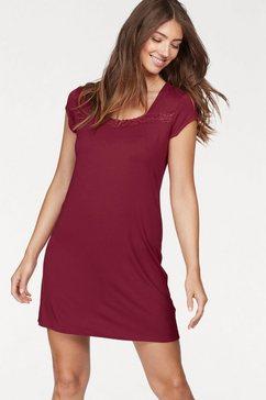 Basic nachthemd »Eliza« met kant