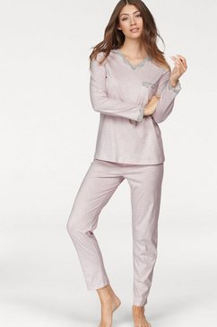pyjama met luipaard-design met kanten details
