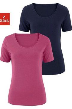 vivance t-shirt (set van 2) paars