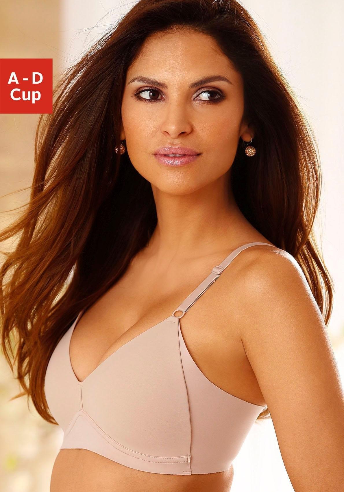 Naturana beha met steuncups zonder beugel »Side smoother« met hoge, modellerende zijkanten bij Lascana online kopen