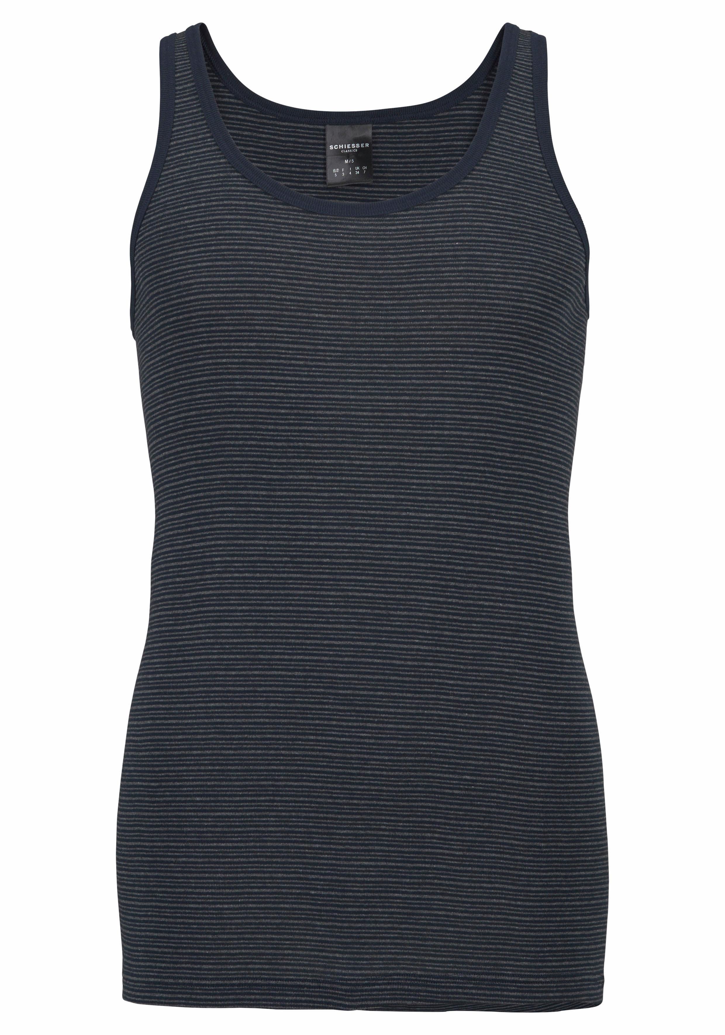 Schiesser fijngeribd hemd gestreept nu online kopen bij Lascana