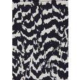 lascana bikinibroekje clara met abstracte animal-print zwart