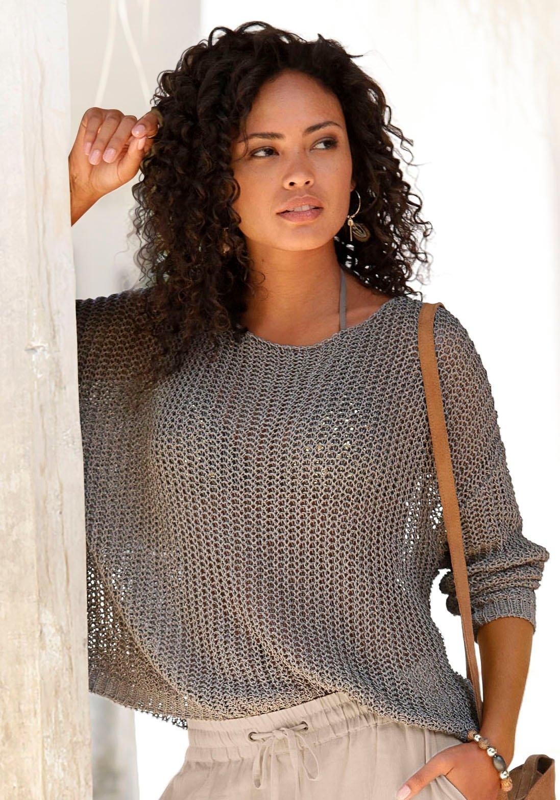 Op zoek naar een LASCANA trui met ronde hals? Koop online bij Lascana