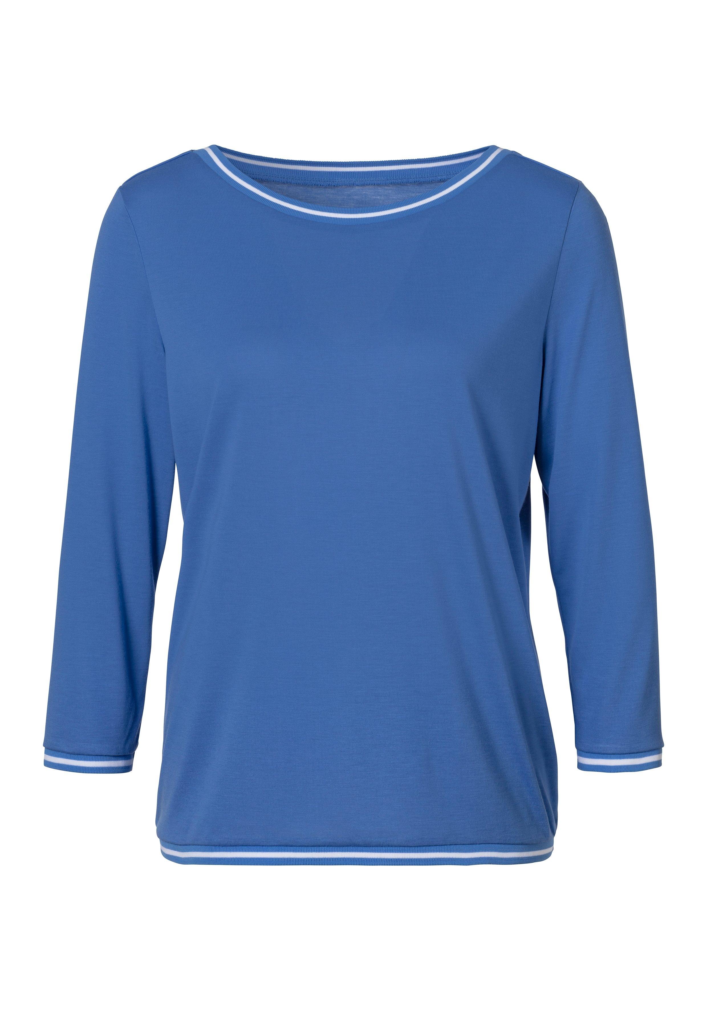H.I.S shirt met 3/4-mouwen met hoogwaardige ribboorden goedkoop op lascana.nl kopen