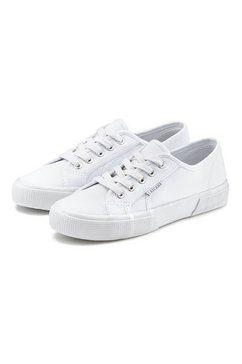 lascana sneakers van textiel wit