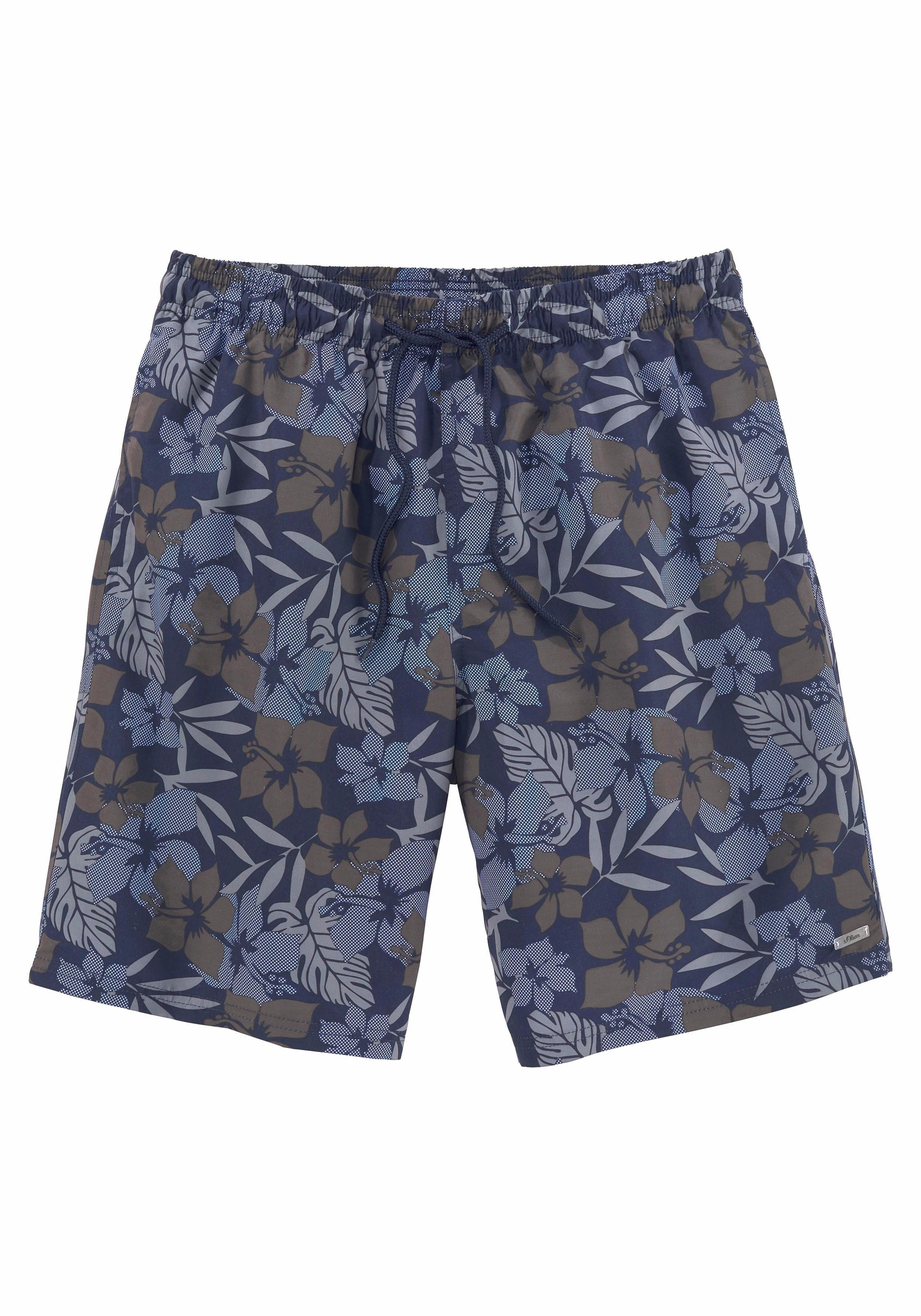 s.Oliver Beachwear s.Oliver RED LABEL Beachwear zwemshort nu online kopen bij Lascana