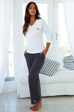 Pyjama in streepdessin