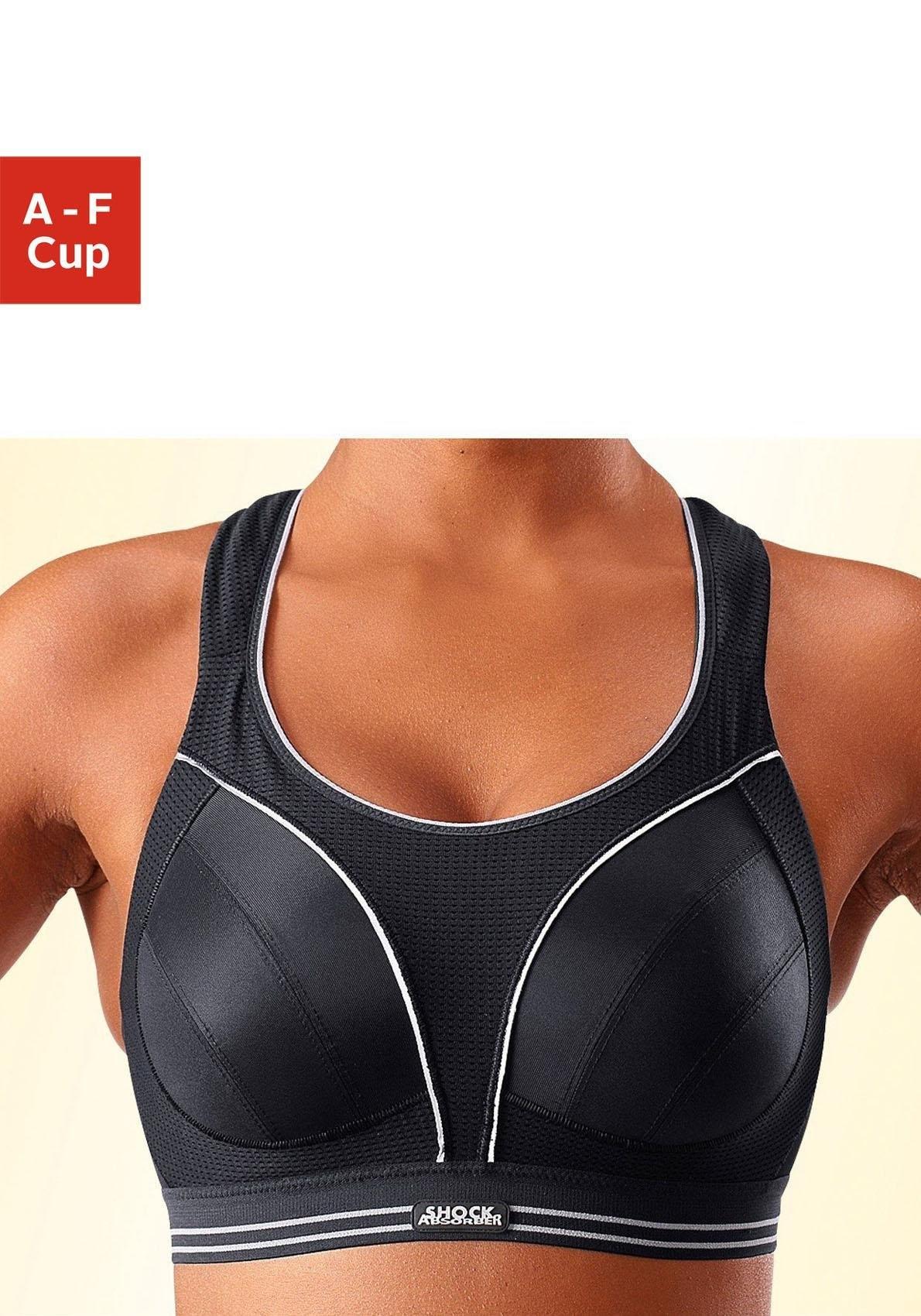 Shock Absorber Sport-bh Run zonder beugels, de ideale beha voor loopsporten en takken van sport met sterke belasting in de webshop van Lascana kopen