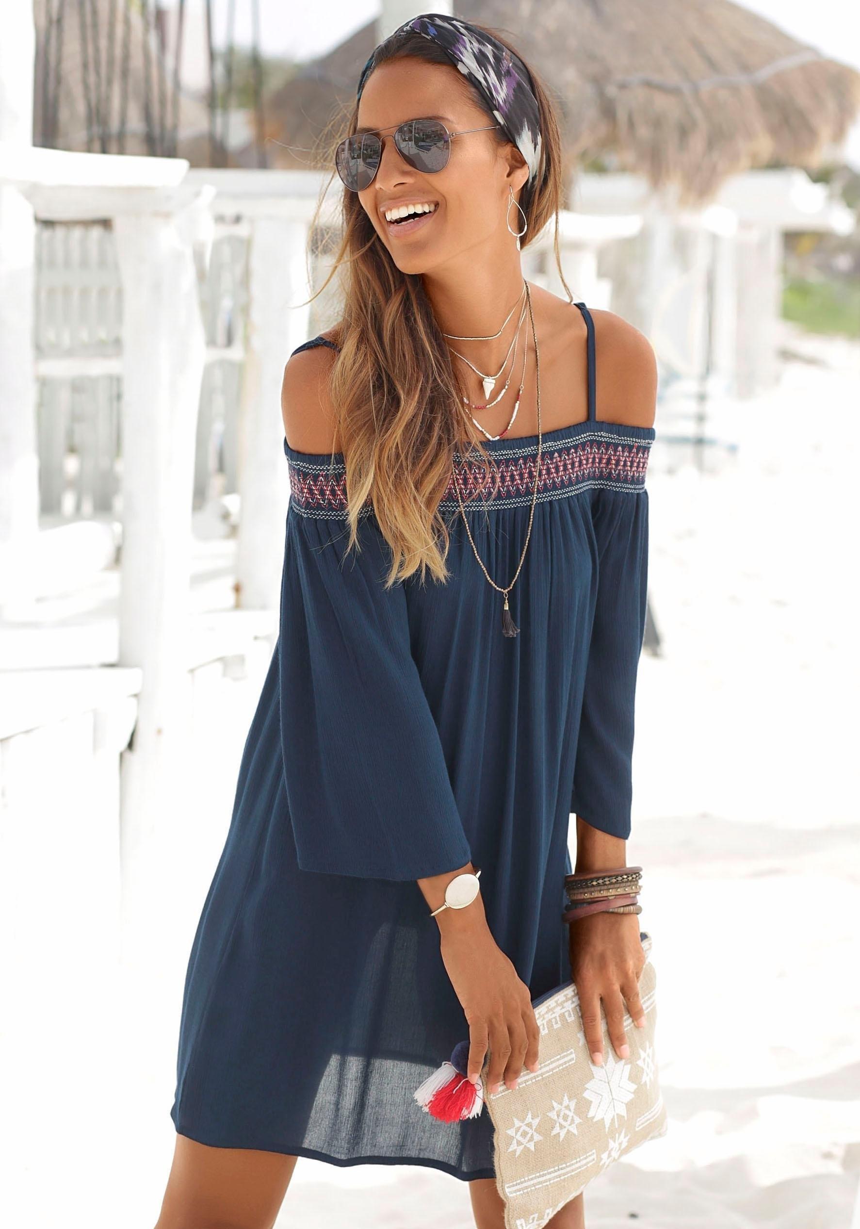 Op zoek naar een s.Oliver Beachwear s.Oliver RED LABEL Beachwear strandjurk? Koop online bij Lascana