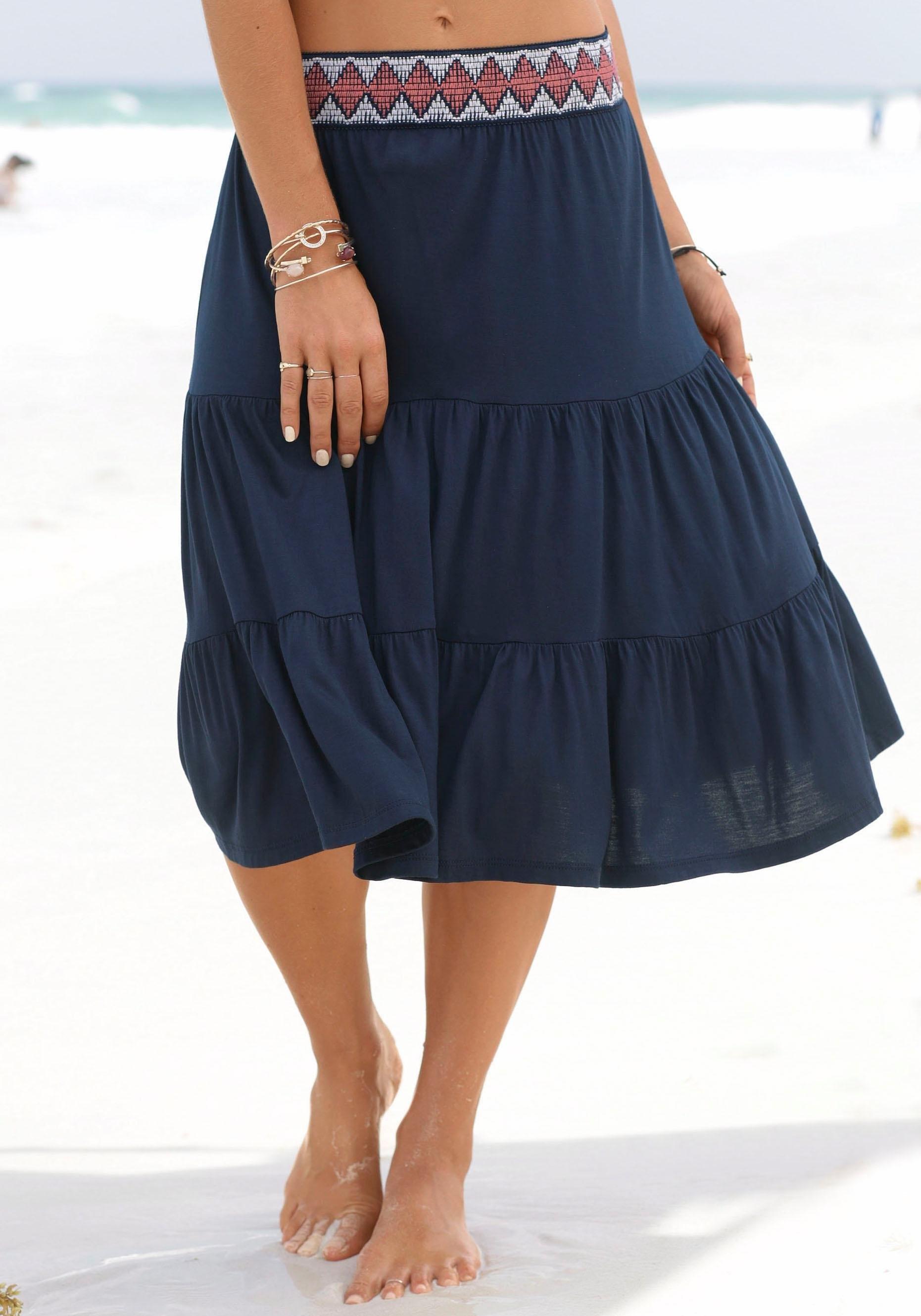 s.Oliver RED LABEL Beachwear Jerseyrok voordelig en veilig online kopen