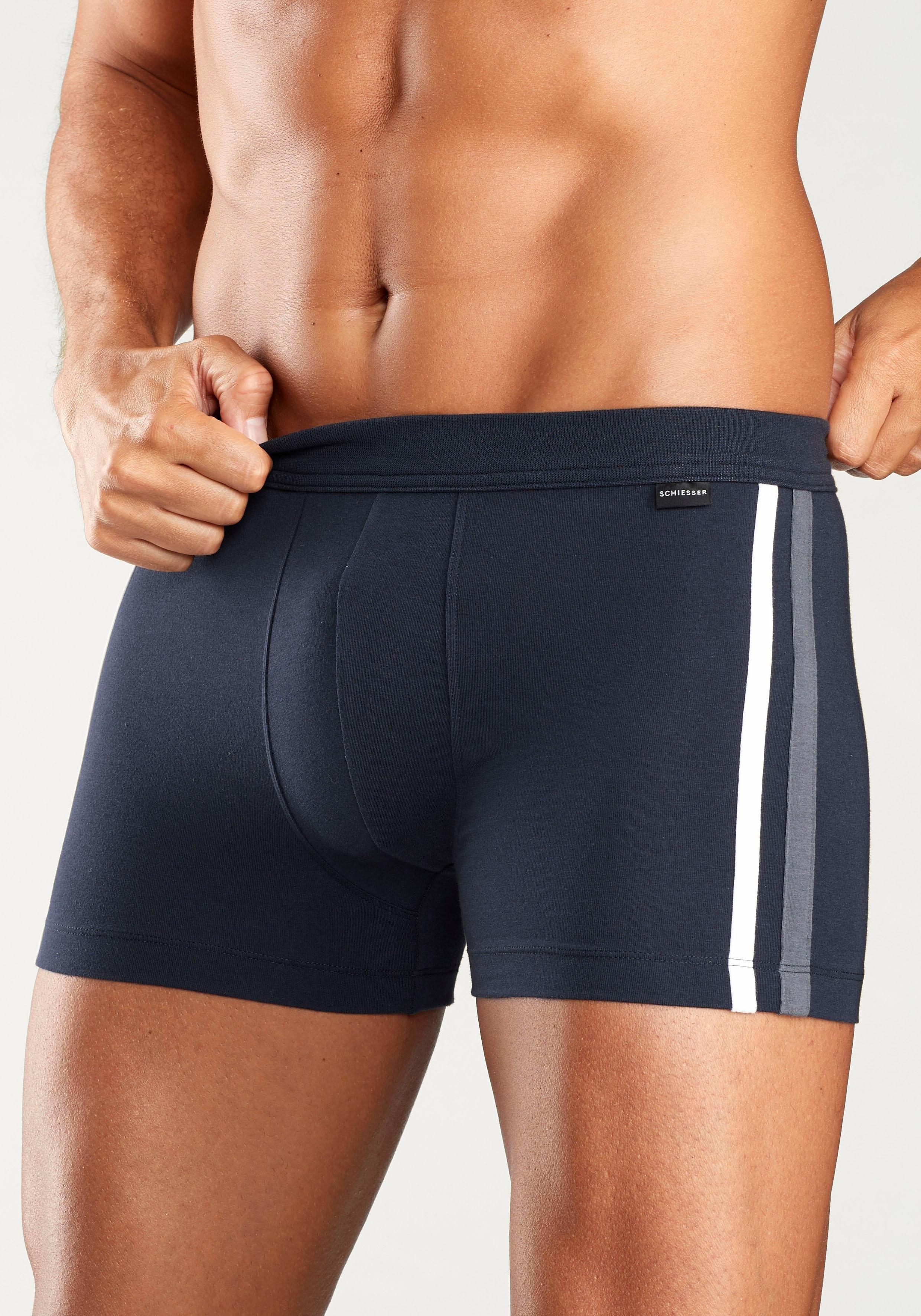 Op zoek naar een Schiesser boxershort met contrast-pipings? Koop online bij Lascana