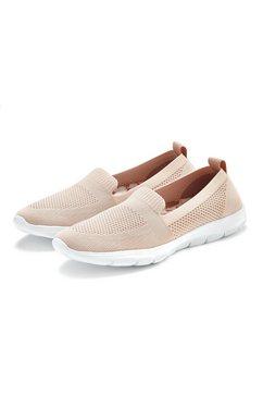 lascana instappers ultralichte sneakers met zachte uitneembare verwisselbare binnenzool bruin