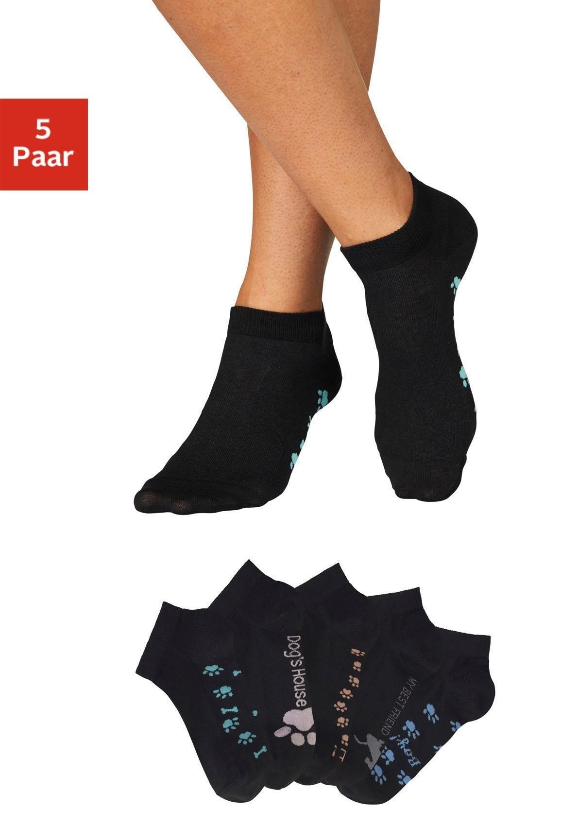 ARIZONA sneakersokken (set van 5 paar) goedkoop op lascana.nl kopen