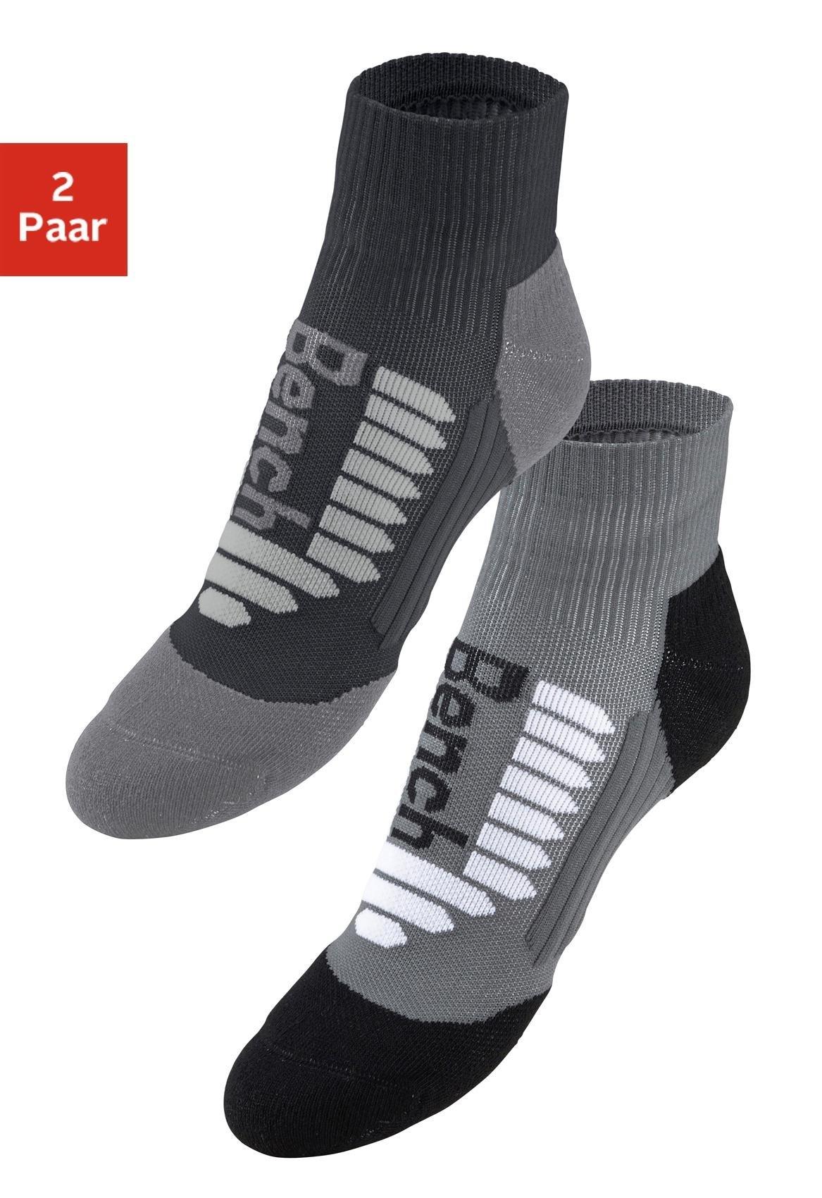 Bench. Sport sneakersokken (2 paar) in de webshop van Lascana kopen