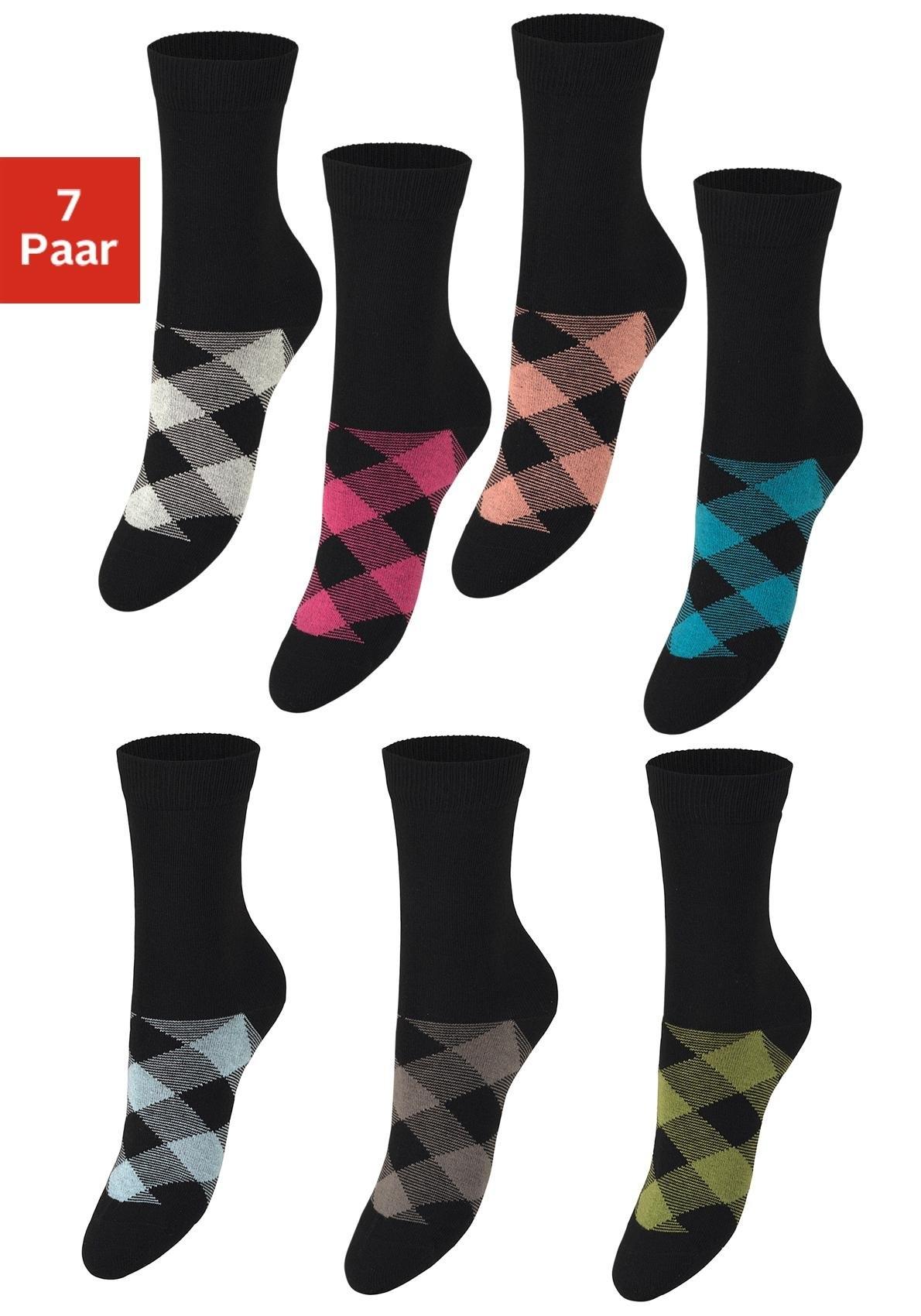 H.I.S sokken (set van 7 paar) - verschillende betaalmethodes