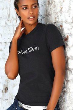 calvin klein t-shirt zwart