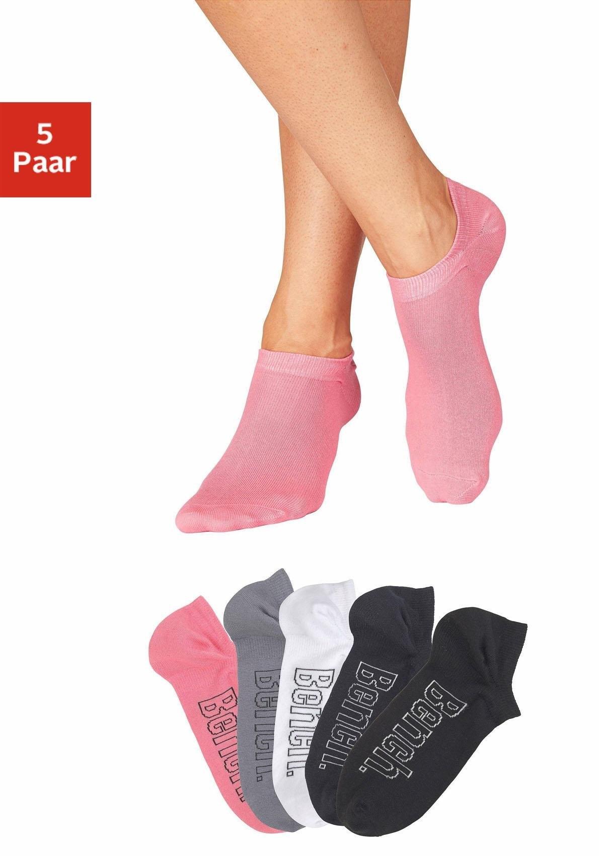 Bench. Sneakersokken voor modieuze sneakers-schoenen (5 paar) voordelig en veilig online kopen
