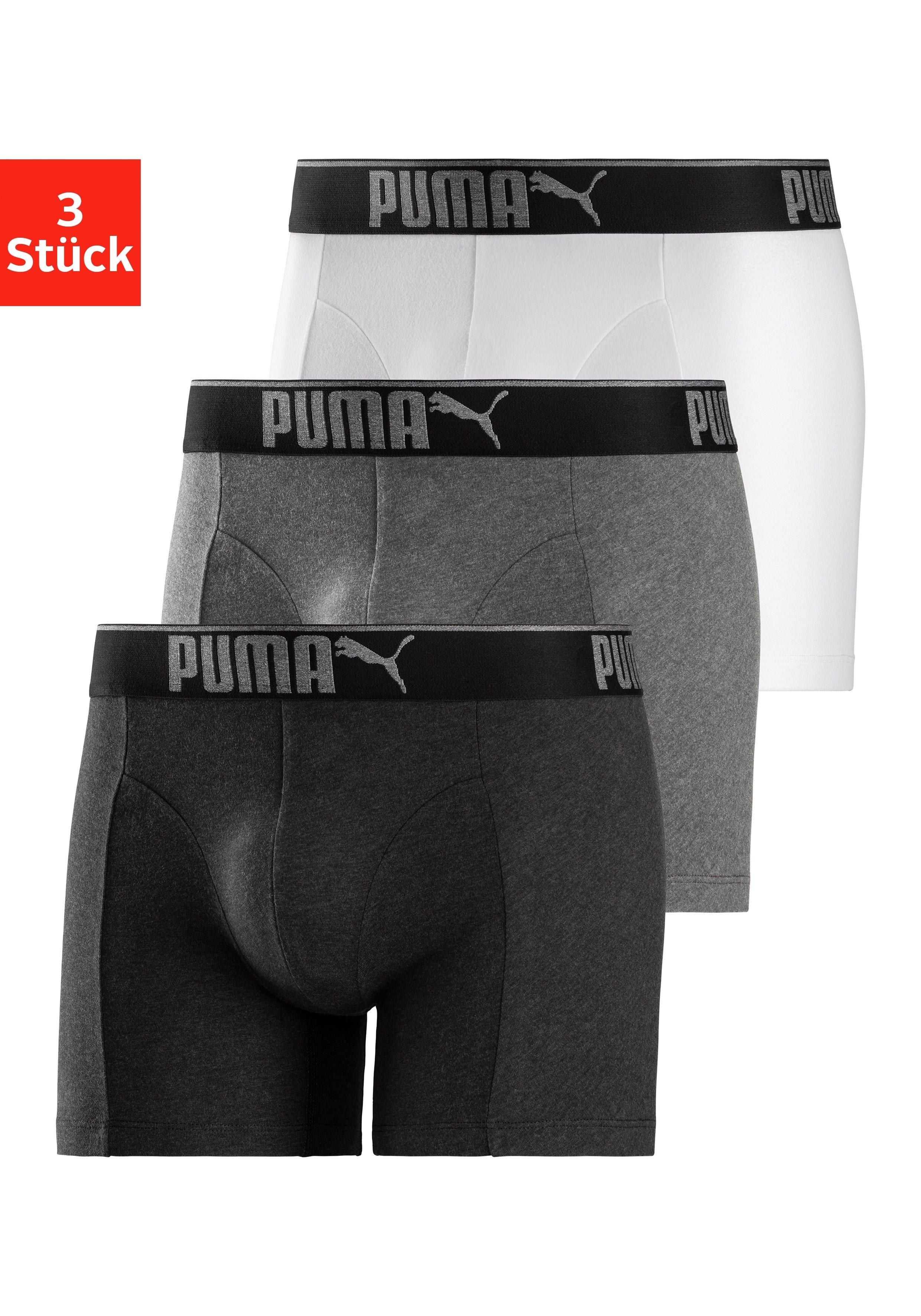 PUMA boxershort Premium-serie (3 stuks) - verschillende betaalmethodes