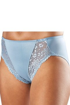 triumph slip ladyform soft tai met kant en modellerende inzetten blauw