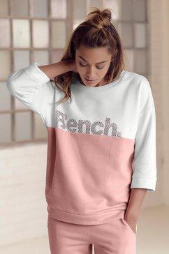 bench. sweatshirt in colourblocking-design oranje