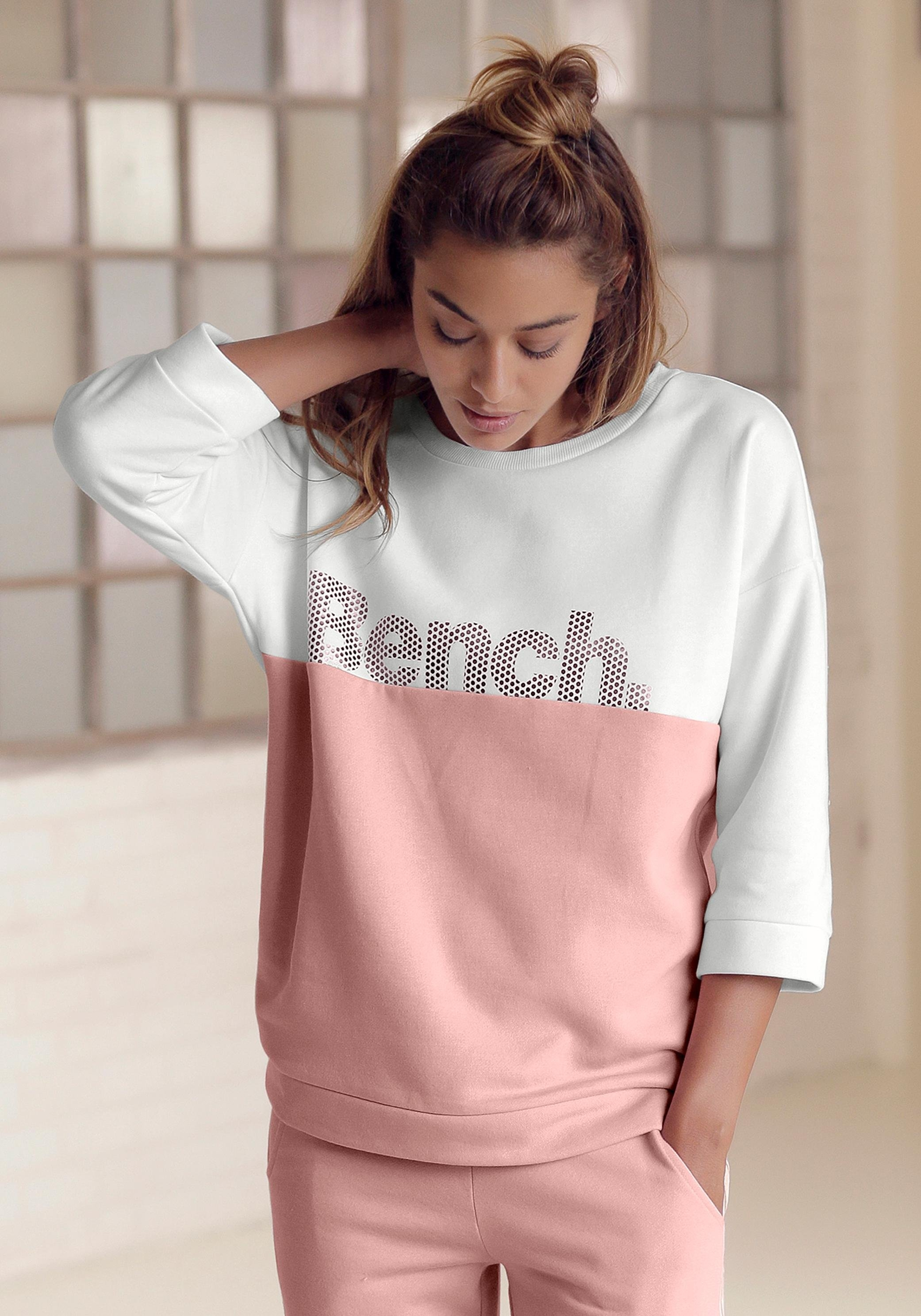 Bench. sweatshirt in colourblocking-design bestellen: 30 dagen bedenktijd