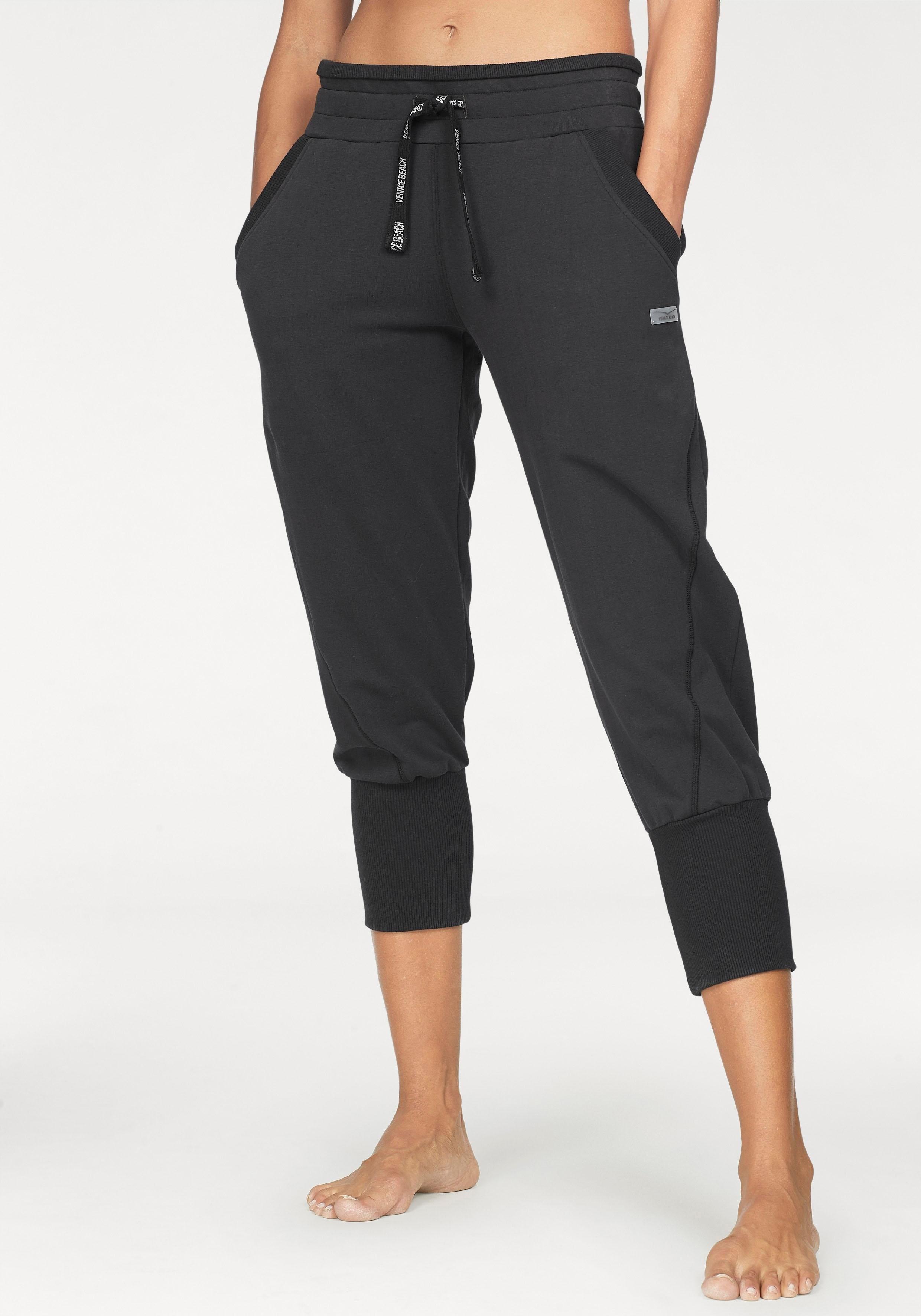 VENICE BEACH Homewear broek »Nahla« van babyfleece - gratis ruilen op lascana.nl