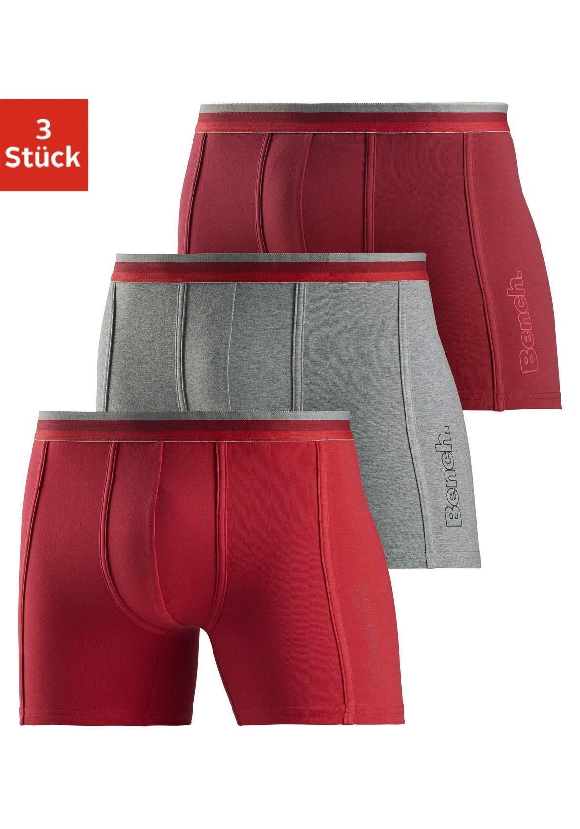Bench. lange boxershort sportief (3 stuks) voordelig en veilig online kopen