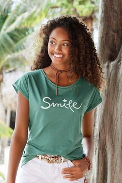 beachtime t-shirt groen