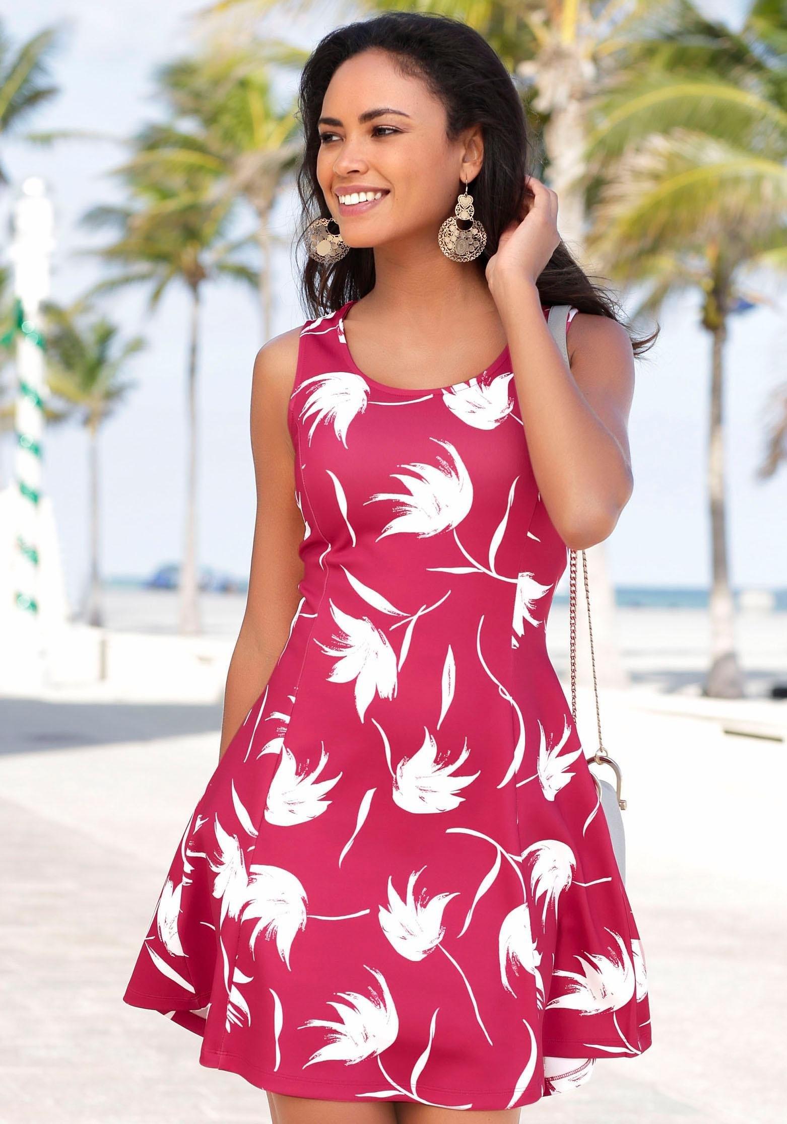 LASCANA scuba-jurk goedkoop op lascana.nl kopen