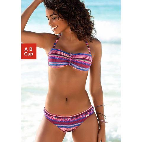 Buffalo Bandeau-bikinitop Lux met vlechtdetail