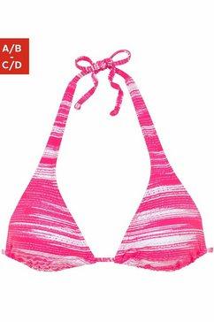 sunseeker triangeltop roze