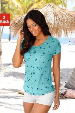 vivance t-shirt (set van 2) groen