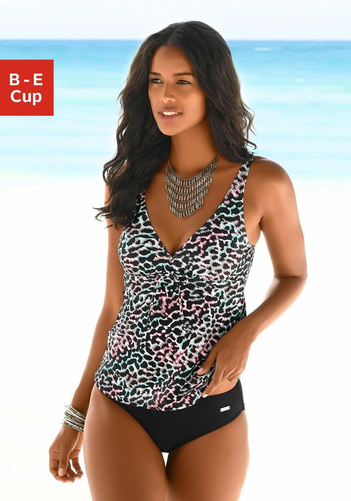 Venice Beach Beugeltankini met gedessineerde print in de webshop van Lascana kopen