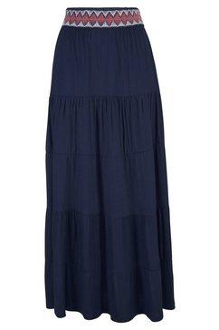 s.oliver red label beachwear strandrok blauw
