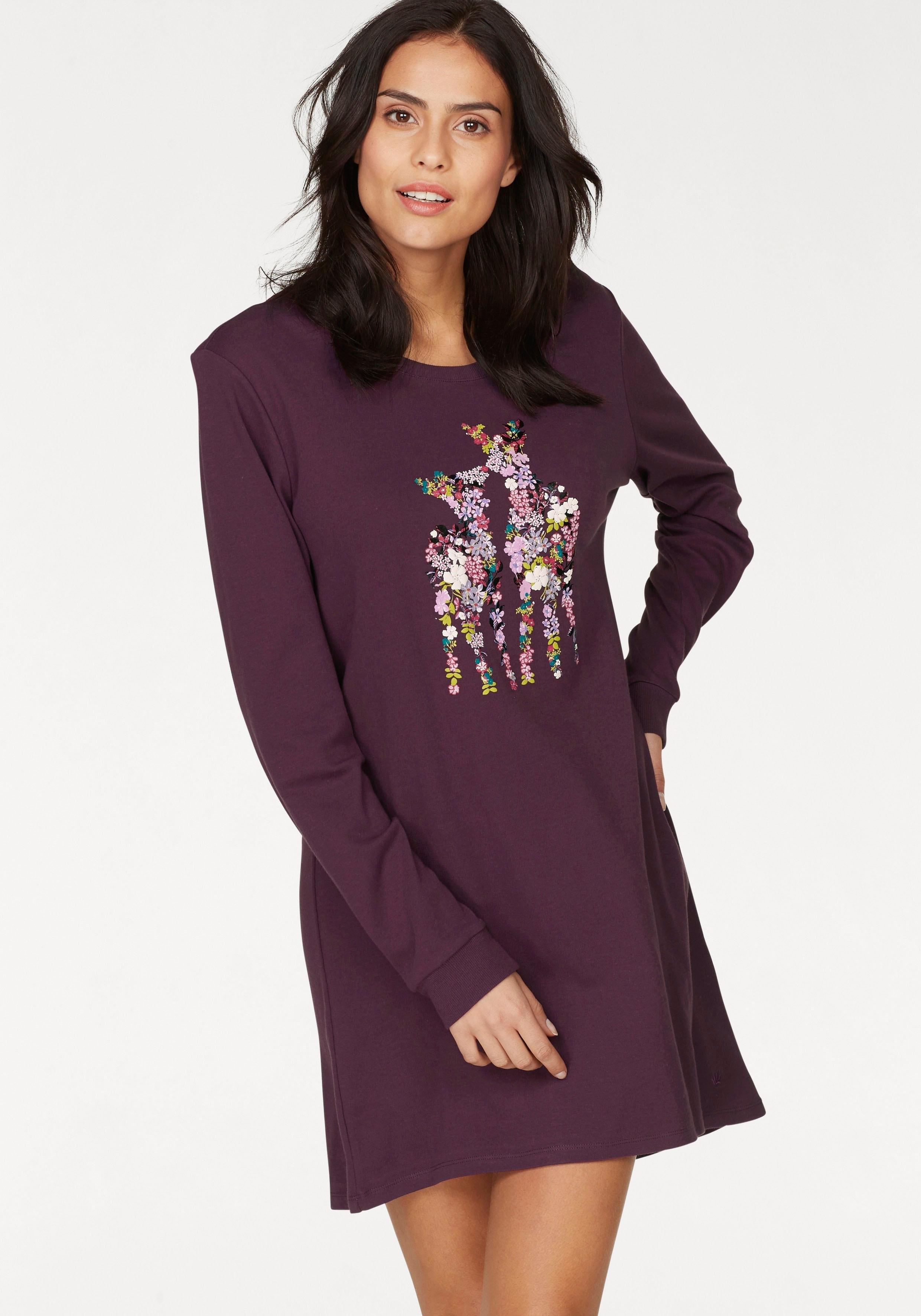 huge discount 2f512 f0034 pyjama nachthemd met bloemenprint