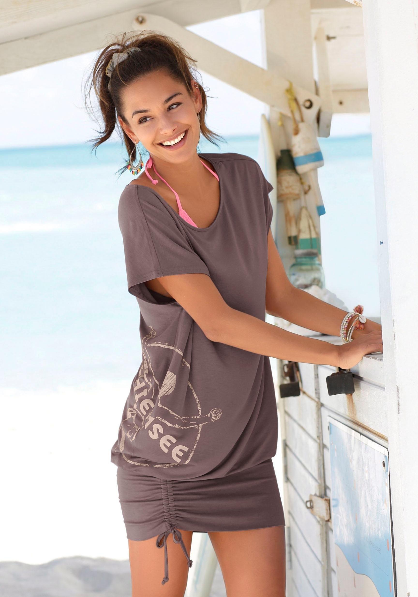 Chiemsee lang shirt met smalle rok goedkoop op lascana.nl kopen