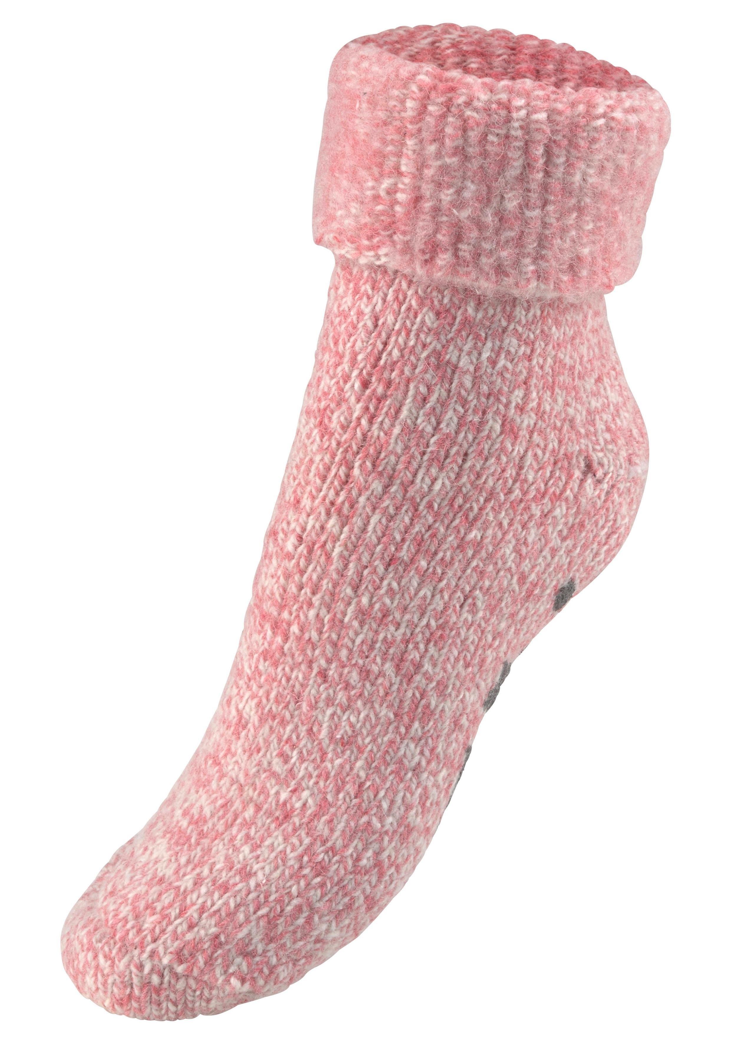 Sympatico Natural wollen sokken met ABS in de webshop van Lascana kopen