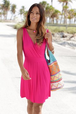 beachtime strandjurk roze