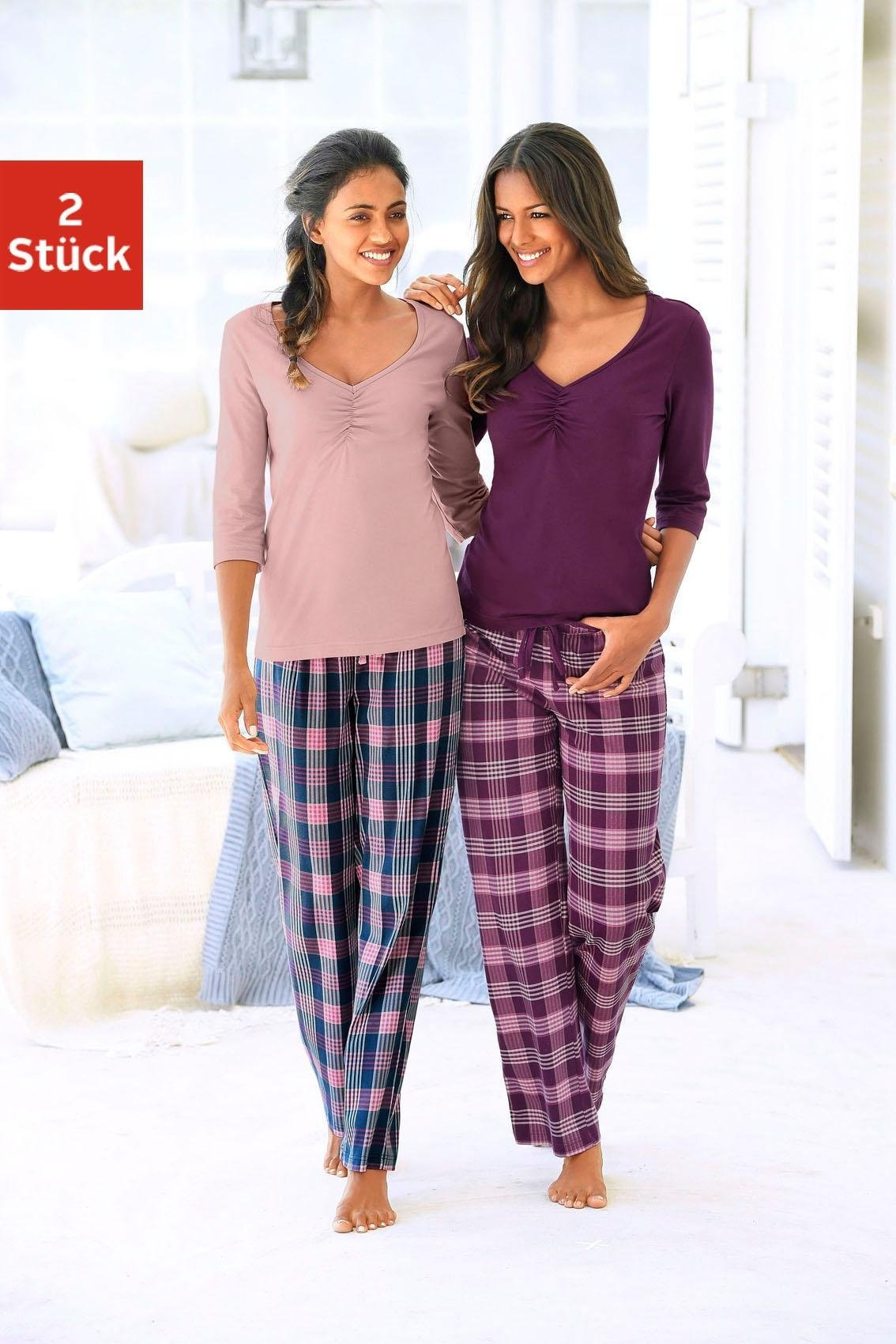 Petite Fleur pyjama's (set van 2) voordelig en veilig online kopen