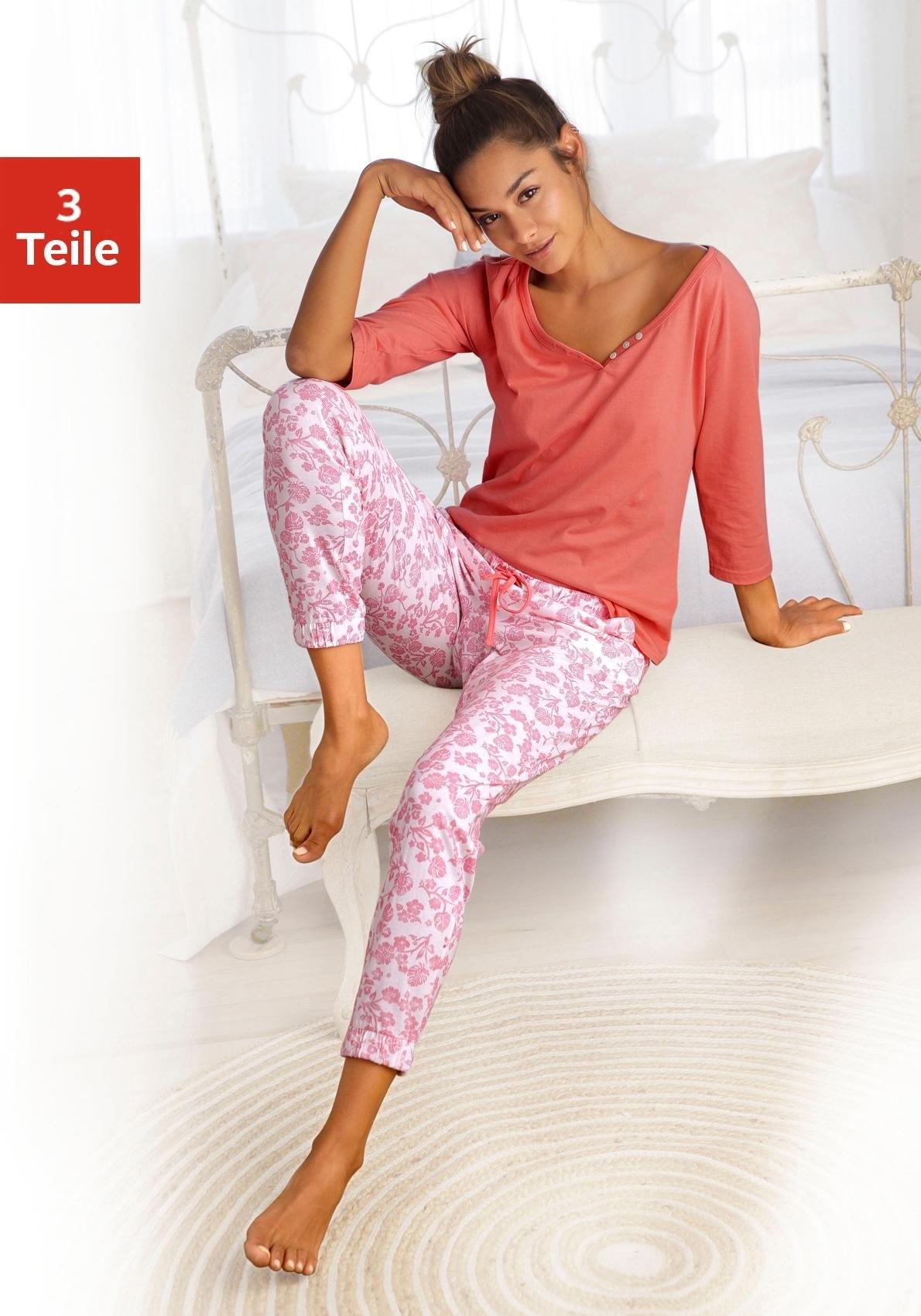 Op zoek naar een Vivance Collection Vivance Dreams set: pyjama (3-dlg.)? Koop online bij Lascana