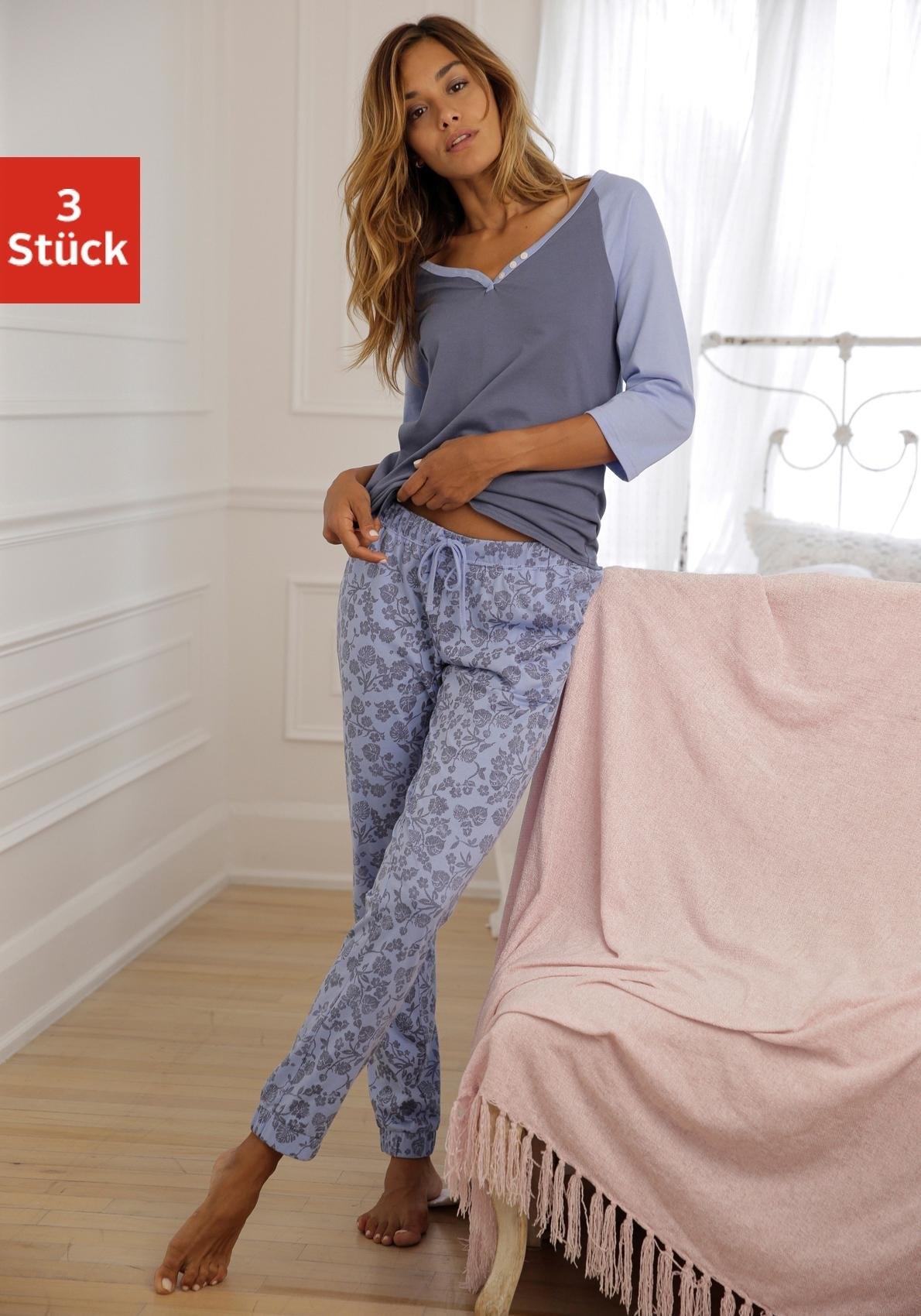 Op zoek naar een vivance collection set: pyjama (3-dlg.)? Koop online bij Lascana