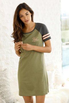 arizona nachthemd met raglanmouwen groen