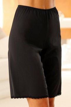 nuance broekonderrok van zacht, soepel materiaal zwart