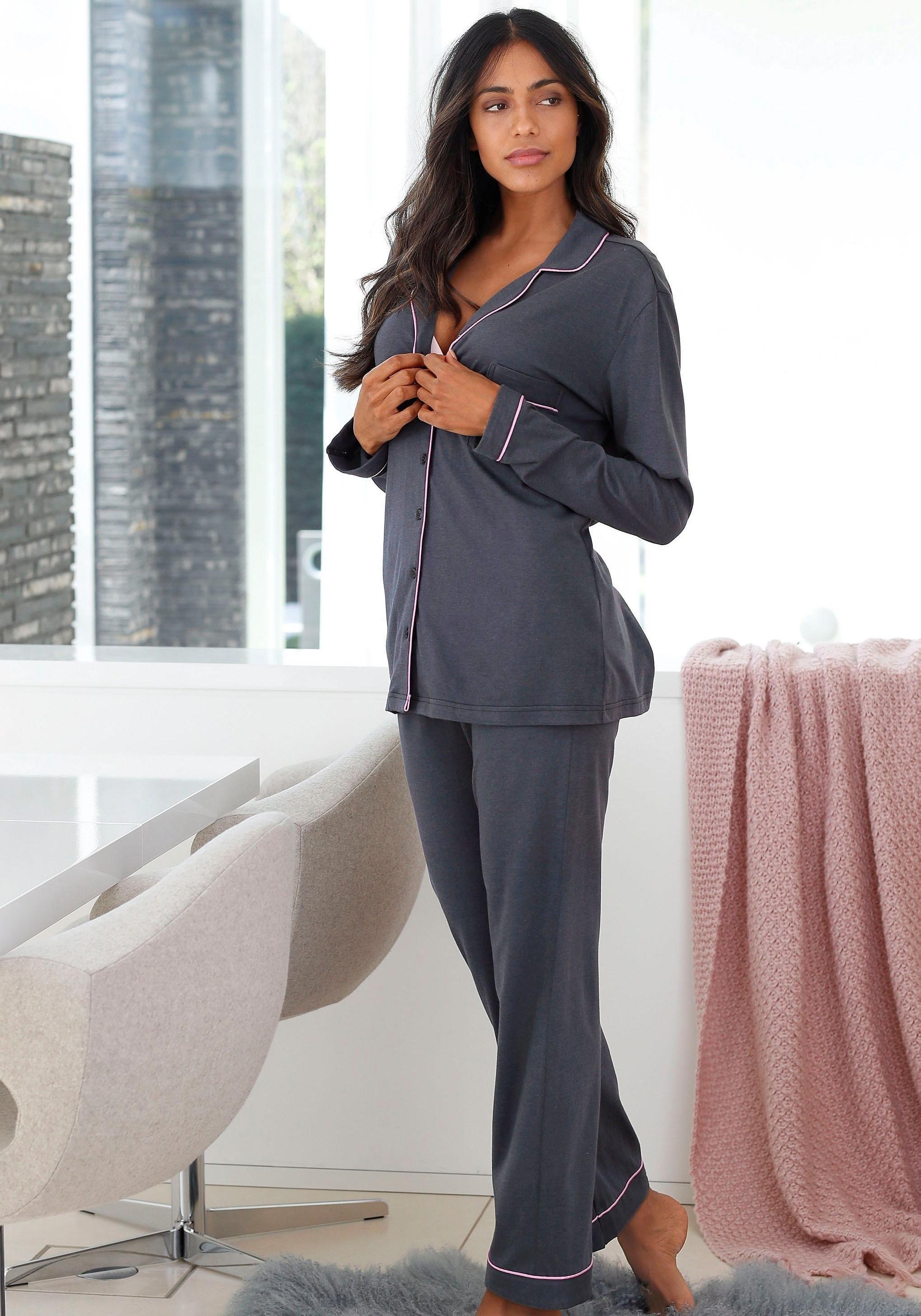 LASCANA pyjama in klassiek model voordelig en veilig online kopen