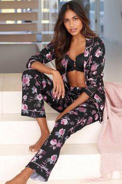 lascana pyjama in klassiek model multicolor