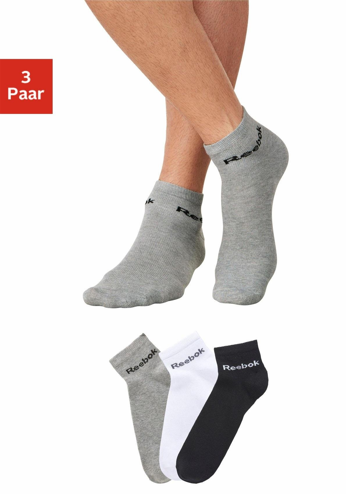 Reebok Sports Reebok korte sokken (3 paar) nu online kopen bij Lascana