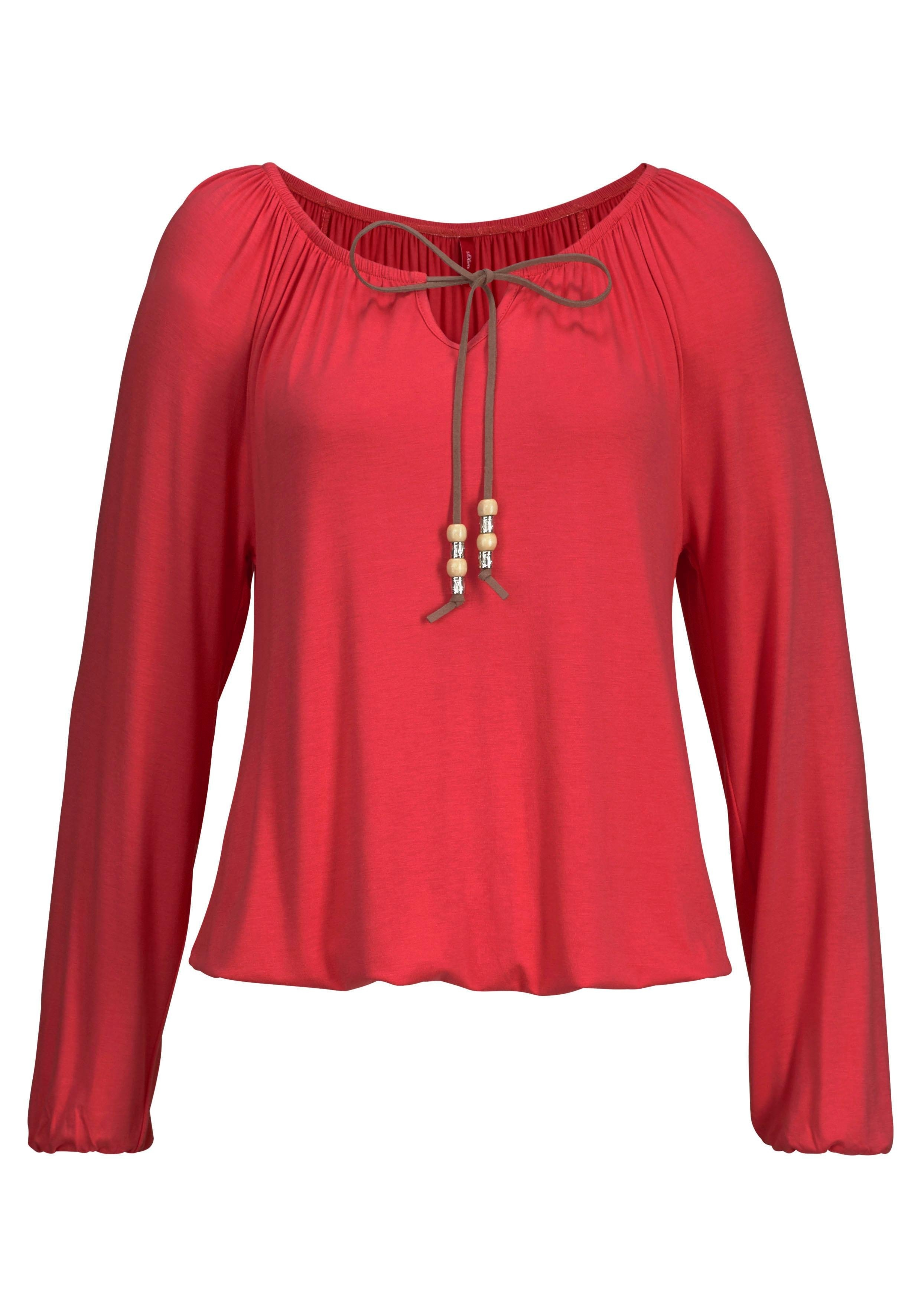 S.OLIVER RED LABEL beachwear strandshirt in de webshop van Lascana kopen