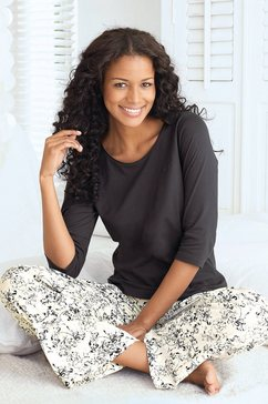 pyjama, s.oliver grijs