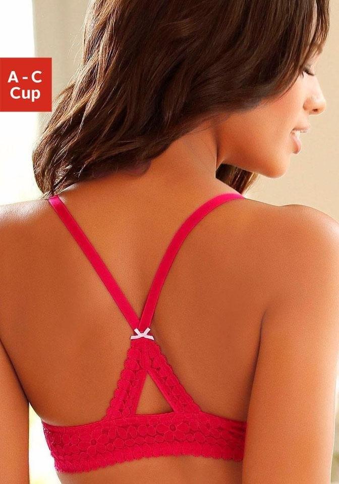 S.oliver Bodywear S.Oliver RED LABEL Bodywear bralette in de webshop van Lascana kopen